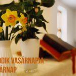 Istentisztelet Böjt hatodik vasárnapján – Virágvasárnap